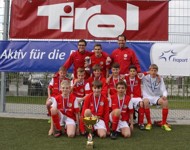 Sieger U13 FC/TSG Königstein