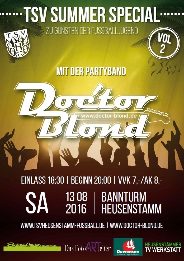 Plakat Dr blond