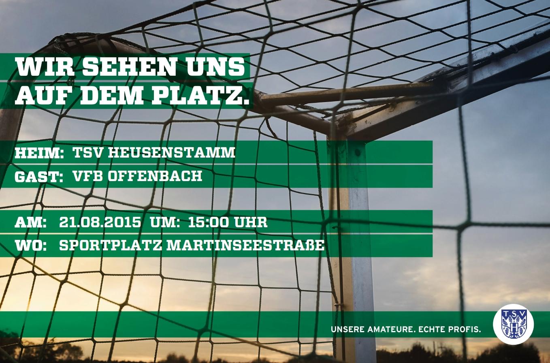 Plakat VFB Offenbach